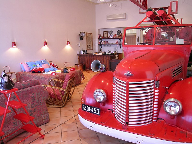The Fire Station Inn - Fire Engine Suite - C Tourism