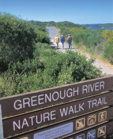 Greenough River Mouth and Devlin Pool - C Tourism