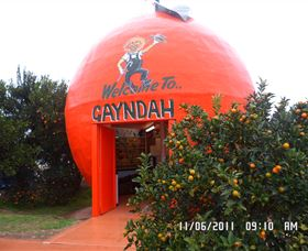 Gayndahs Big Orange - C Tourism