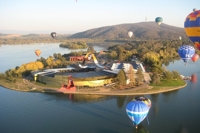 Canberra Hot Air Balloon Flight at Sunrise - C Tourism