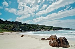 Fishermans Bay foreshore - C Tourism