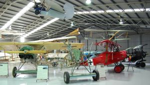 The Australian Vintage Aviation Society Museum - C Tourism