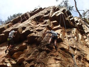 Rock Climbing in Morialta - C Tourism