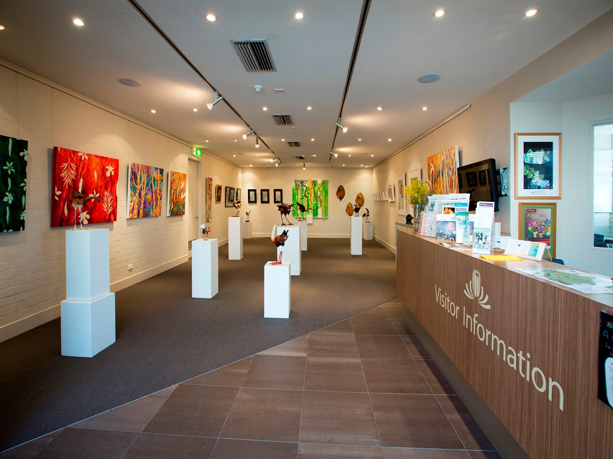 Australian National Botanic Gardens Visitor Centre Gallery - C Tourism