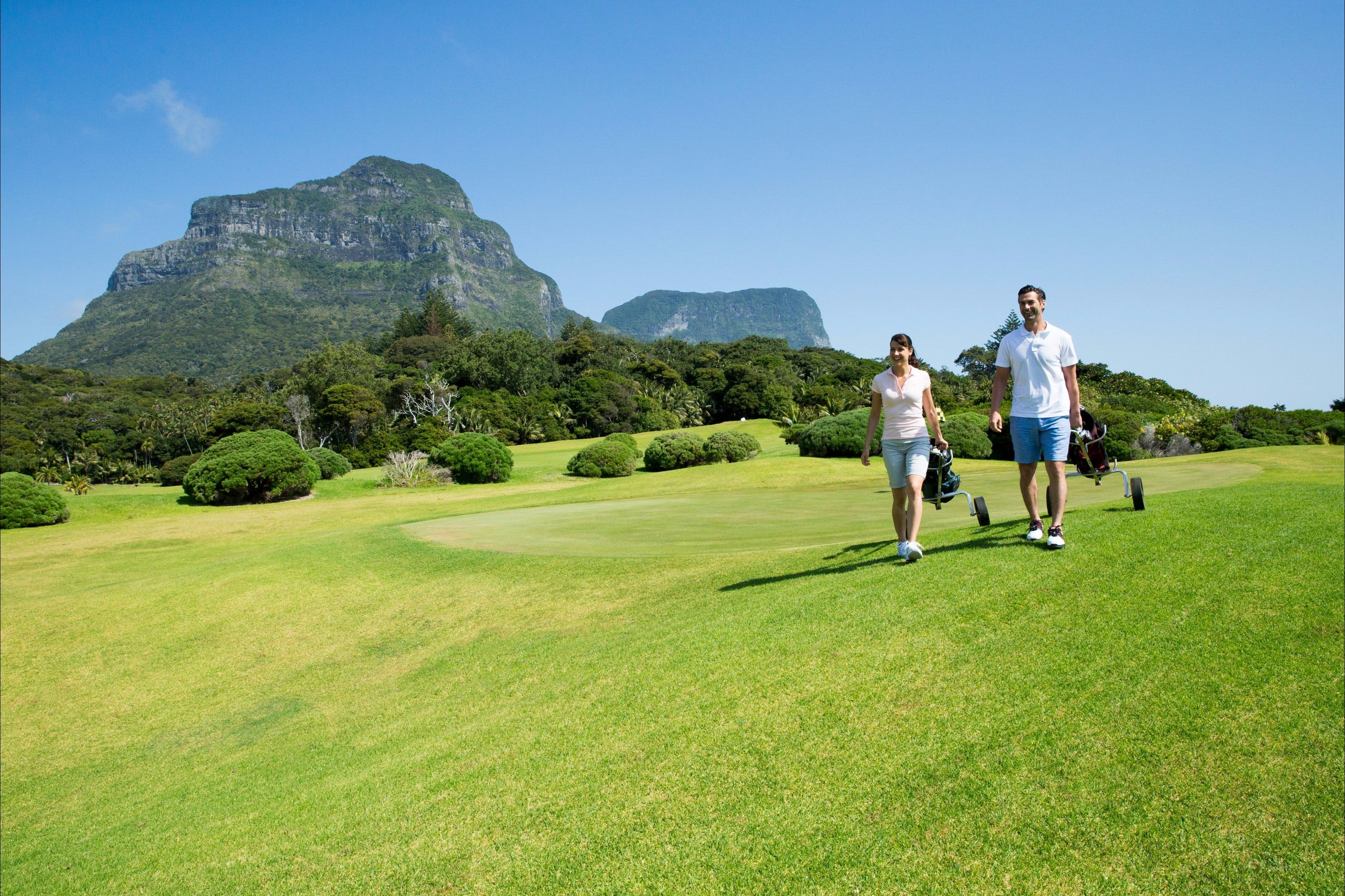 Lord Howe Island Golf - C Tourism