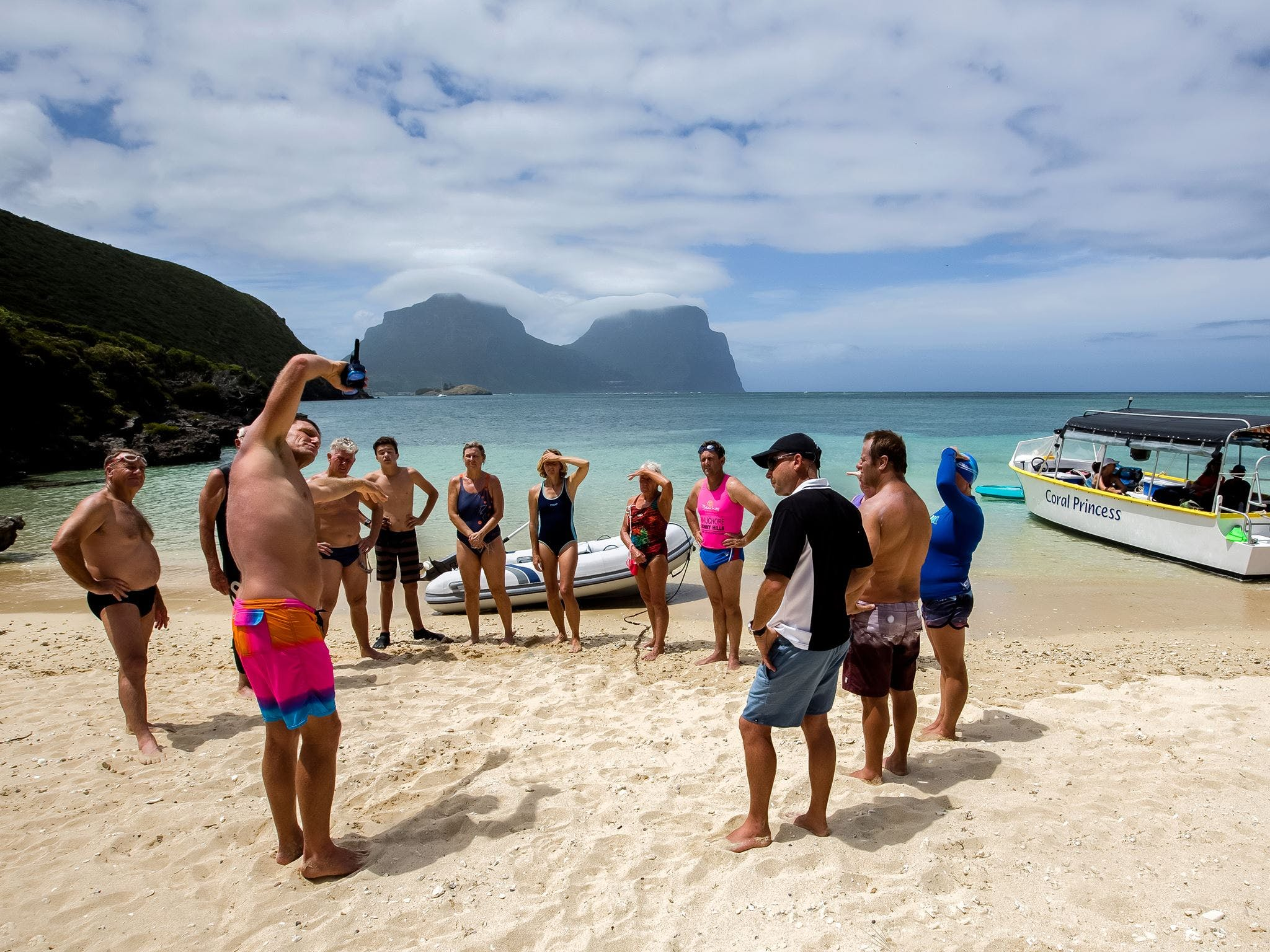 Ocean Swim Week with Trevor Hendy Pinetrees Lord Howe Island - C Tourism