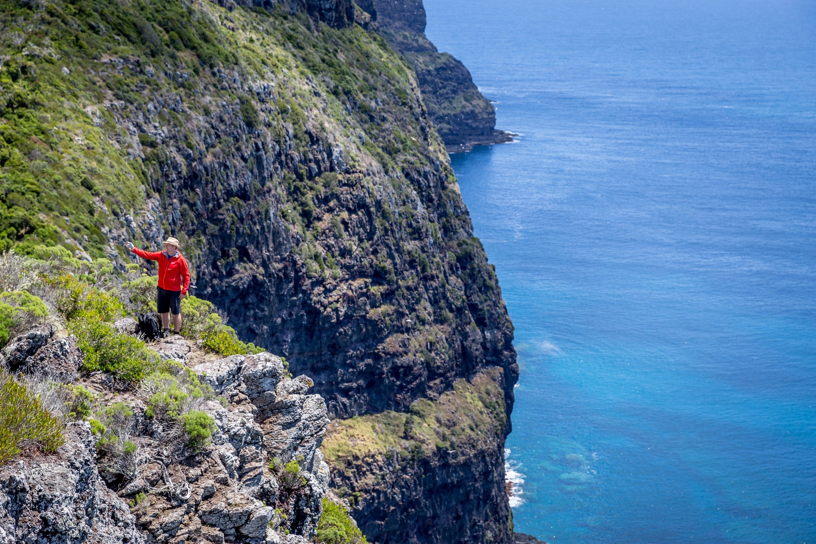 Seven Peaks Walk at Pinetrees Lord Howe Island - C Tourism
